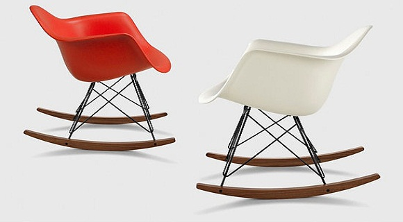 Rocking chair eames des mobiliers relaxants - Rocking chair confortable ...