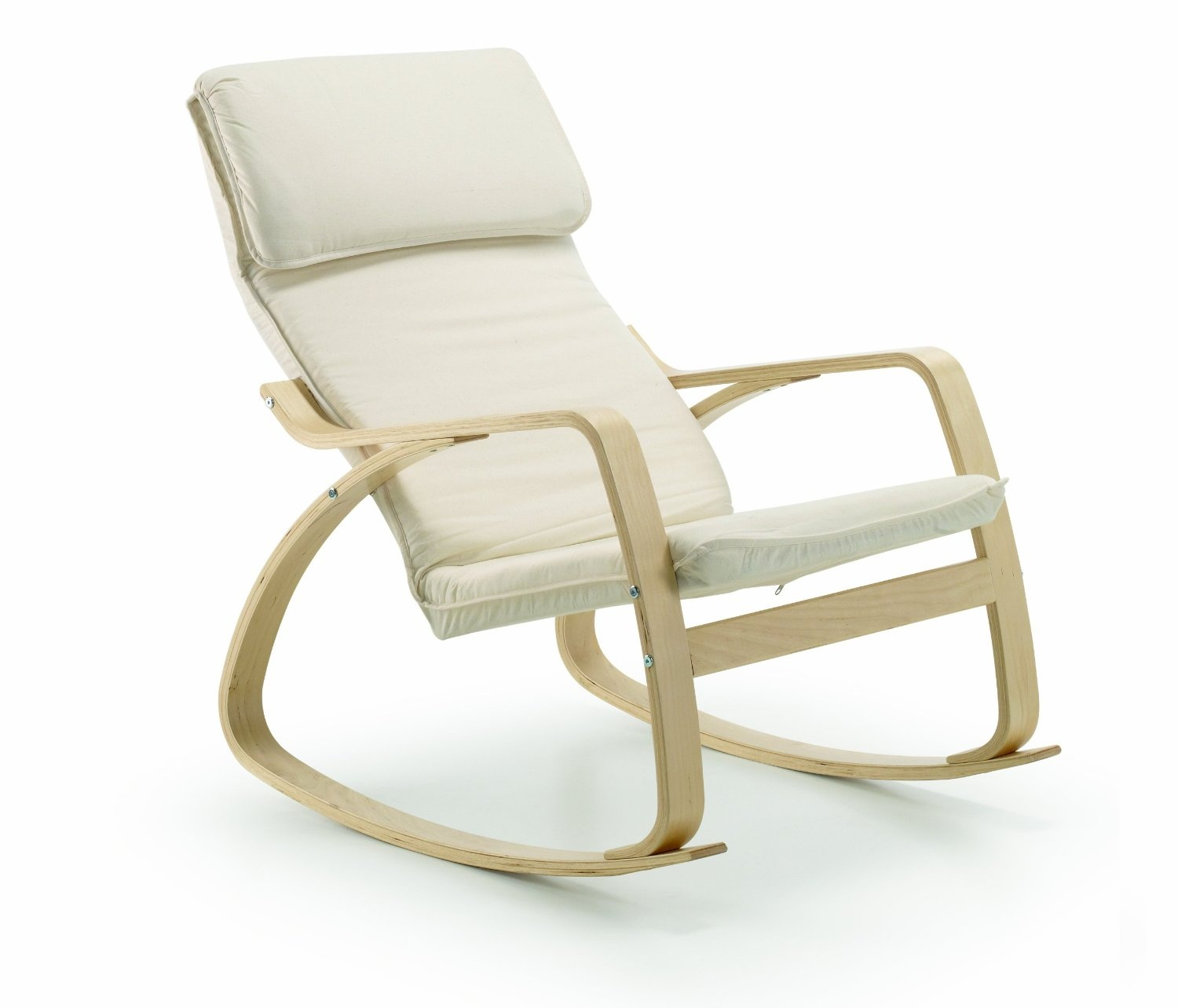 Rocking chair en teck